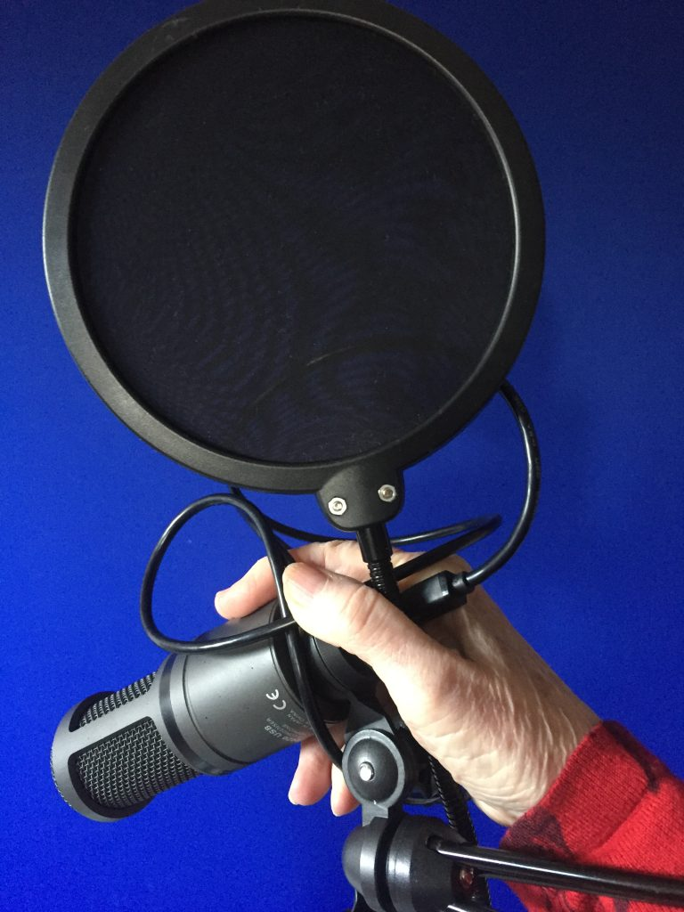 mic and pop filter image